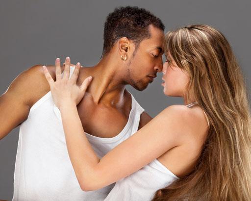 pareja de baile sensual
